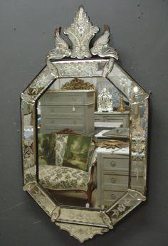 Antique Venetian mirror from www.jasperjacks.com