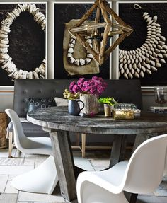 In love with this home by stylist Jill Sharp Weeks in House Beautiful