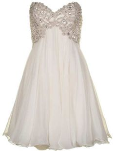 Forever Unique Sophia Prom Dress in Ivory