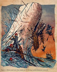 Moby Dick vs Life Aquatic by The Searcher, via Flickr