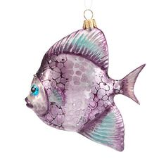 Swarovski Fish Christmas Ornament