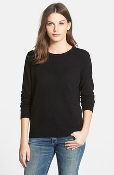 Nordstrom Collection Cashmere Crewneck Sweater available at #Nordstrom