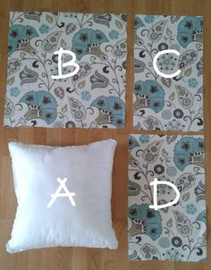 Sewing Pillows How To Make Simple Pillow Shams Diy Tumblr, Easy Sewing Projects, Sewing Crafts, Baby Pillows, Throw Pillows, Shirt Pillows, Burlap Pillows, Bolster Pillow, Decorative Pillows