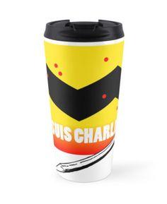 #JeSuisCharlie #travelmug Benefit #charliehebdo #paris #france #satire by @LTCartoons #redbubble