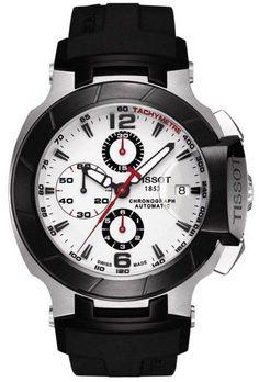 Tissot Watch T-Race #bezel-fixed #bracelet-strap-rubber #brand-tissot…