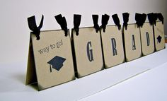 Graduation Centerpiece Ideas | Graduation centerpiece, vintage inspired table decoration, tented sign