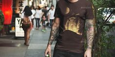 Buy T-Shirt Mockup / Urban Edition by on GraphicRiver. A quick and easy way to showcase your t-shirts with professional product images. These are perfect if you are making . T Shirt Design Template, Color Filter, Shirt Mockup, Female Models, Colorful Shirts, Heather Grey, Shirt Designs, Urban, Filters