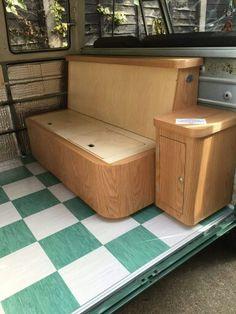 Richard c booth design interior of a camper van