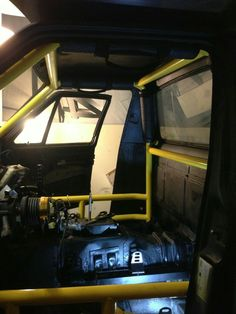 Caddy roll cage