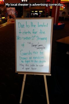 Theater Sign Win