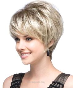Best and Cute Haircut for Round Faces and Thin Hair of Short Hairstyle For Women…  http://www.hairdesigns.top/2017/07/20/best-and-cute-haircut-for-round-faces-and-thin-hair-of-short-hairstyle-for-women/