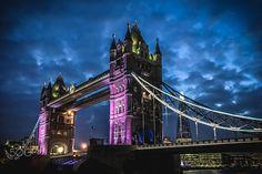 Tower Bridge at dusk - null