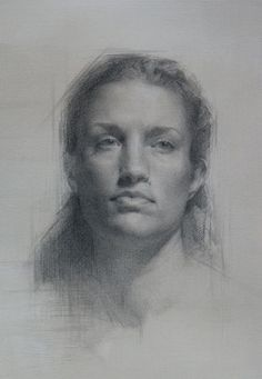Zoey Frank is a featured artist in The Figurative Artist's Handbook by Rob Zeller. Frank lives in the bay area of CA received her MFA from Laguna College of Art and Design and completed a classical art training under Juliette Aristides. Portrait Sketches, Pencil Portrait, Portrait Art, Drawing Sketches, Art Drawings, Figure Drawings, Female Portrait, Paper Drawing, Painting & Drawing