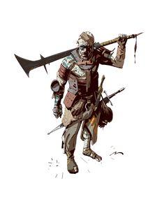 By Mauro Belfiore Fantasy Character Design, Character Concept, Character Art, Concept Art, Character Ideas, Fantasy Rpg, Medieval Fantasy, Dark Fantasy, Fantasy Inspiration