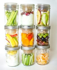 These healthy snacks in jars have been a healthy eating game changer in my kitchen, and I know you are going to feel the same way!