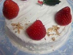レンジで簡単クリスマスケーキの画像
