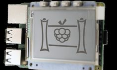 Raspberry Pi gets an ePaper display screen from PaPiRus