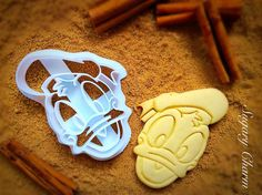 3D Donald Duck cookie cutter Disney cookie cutter by SugaryCharm