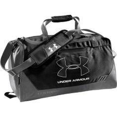 Under Armour Hustle Storm Medium Duffle Bag Adjustable, Padded Shoulder Straps