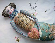 mermaid doll  Olga March...amazing detail