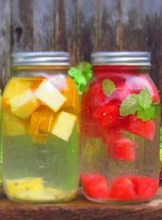 How to make your own flavored water at home