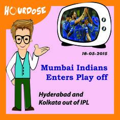 Mumbai Indians Enters Play off