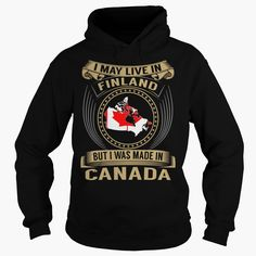 Live in Finland - Made in Canada - Special, Get yours HERE ==> https://www.sunfrog.com/States/Live-in-Finland--Made-in-Canada--Special-Black-Hoodie.html?id=47756 #christmasgifts #merrychristmas #xmasgifts #holidaygift #finland #visitfinland #thisisfinland #igersfinland