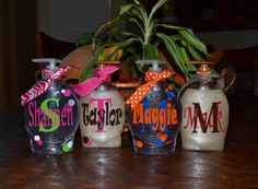 Personalized Soap Dispensers