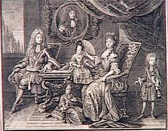 The family of the Grand Dauphin
