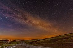 Milky Way  The Milky Way appearing over the Preseli Hills Pembrokeshire Wales.  Image credit: http://ift.tt/29dM8Rp Visit http://ift.tt/1qPHad3 and read how to see the #MilkyWay  #Galaxy #Stars #Nightscape #Astrophotography