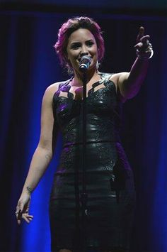 Demi Lovato's Acceptance Speech at unite4:humanity Gala, February 27, 2014 in Los Angeles.