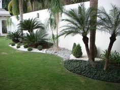 35 Simple Handmade Garden Landscaping Ideas In Side Your House Front yard landscaping, Backyard land Florida Landscaping, Front Yard Landscaping, Landscaping Ideas, Acreage Landscaping, Palm Trees Landscaping, Outdoor Landscaping, Residential Landscaping, Country Landscaping, Modern Landscaping