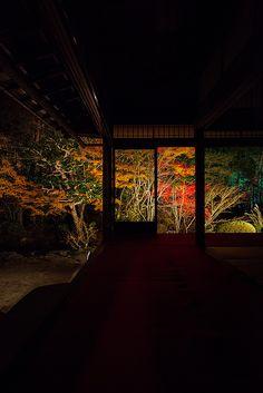 "Night of ""Tentokuin"" in Nanzen-ji Temple, Kyoto, Japan"