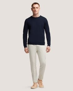 DICK - MEN'S LINE FROM AMSTERDAM FLAVIN Slim fit cotton sweater
