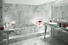 bathroom in Faena Hotel + Universe, but I could have it in my place....