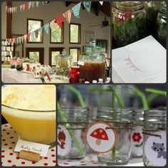 woodland party theme | Woodland Themed Baby Shower - Party and Event Guide -Party Ideas Blog ...
