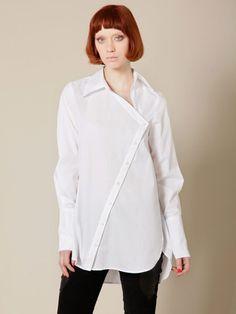 Kimberley ovitz asymmetric shirt gilt $129