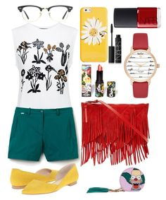 """""""Untitled #97"""" by yulia-bugiera ❤ liked on Polyvore featuring Kate Spade, Markus Lupfer, Lacoste, Skinnydip, Reiss, Marc Fisher LTD, Lime Crime, Ray-Ban and NARS Cosmetics"""