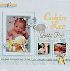 Rose Blossom Legacies: Whimsy Baby Pages - Month 1