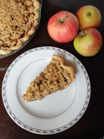 Apple Pie With Crunch Topping