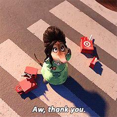 zootopie zootopia walt disney thank you merci Image, animated GIF Zootopia Gif, Zootopia 2016, Old Disney, Cute Disney, Disney Films, Disney Pixar, Judy Hopps, Fru Fru, Disney Images