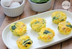 Spinach & Cheese Egg Muffins