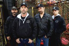 Time Bandit Crew - Deckhand Neil Hillstrand, Captain Andy Hillstrand, Captain Johnathan Hillstrand and Deckhand Scott Hillstrand (Family)