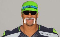 Russell Mania Fantasy Football Names, Seattle Seahawks, Mens Sunglasses, Album, Funny Stuff, Funny Things, Men's Sunglasses, Card Book