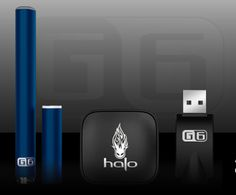 An amazing blue series of E-cigs!
