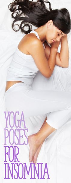 Yoga and yogic breathing can have a sedating effect on the body, which will help those suffering from insomnia. Researchers have found that a daily yoga practice broadly improved the quality and quantity of sleep for those with insomnia. Yoga poses for insomnia. Taking long, deep breaths in bed will help to calm the mind and body, which will help bring tranquility and a deeper sleep. The following poses done prior to going to bed will also help the body fall into a restful sleep.