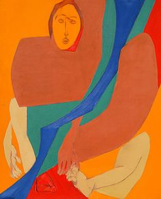 tyeb mehta sitting figure