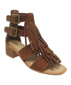 Another great find on #zulily! Rust Murphy Sandal #zulilyfinds
