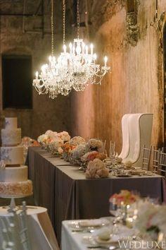 photo: Tara McMullen Photography via WedLuxe; wedding reception idea