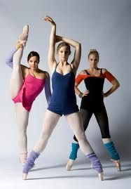 Dena Kaplan (Abigail Armstrong), Xenia Goodwin (Tara Webster), and Alicia Banit (Kat Karamakov)- Dance Academy
